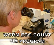 Are your worm egg counting results up to scratch? Contact us to express interest in participating.